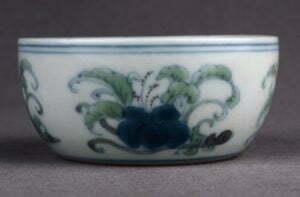 A doucai cup, Chenghua mark and period, 7.5cm diameter, Percival David Collection, British Museum.
